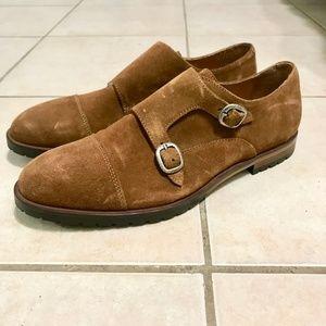 Men's McCarren & Sons Double Monkstrap Leather